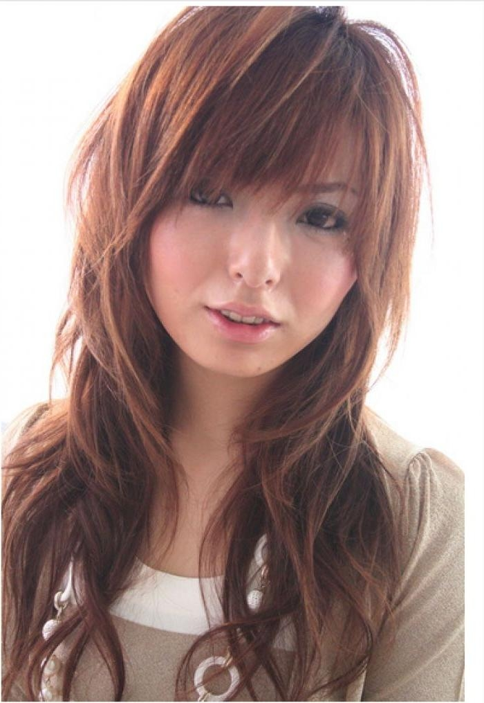 2020 Popular Long Layered Japanese Hairstyles