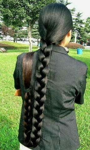 10 Best Long Hair Images On Pinterest | Thick Long Hair, Long Hair Inside Braids For Long Thick Hair (View 1 of 15)