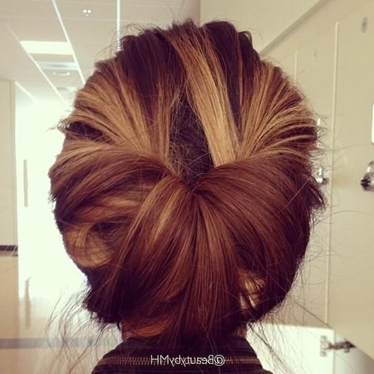 10 Best Updo Hairstyles – Popular Haircuts Throughout Long Hairstyles Updos  (View 2 of 15)