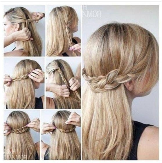 10 Half Up Braid Hairstyles Ideas – Popular Haircuts Within Half Up Hairstyles For Long Straight Hair (View 1 of 15)