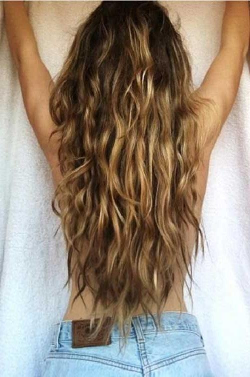 10+ Long Layered Hair Back View | Hairstyles & Haircuts 2016 – 2017 Within Long Hairstyles Back View (View 1 of 15)
