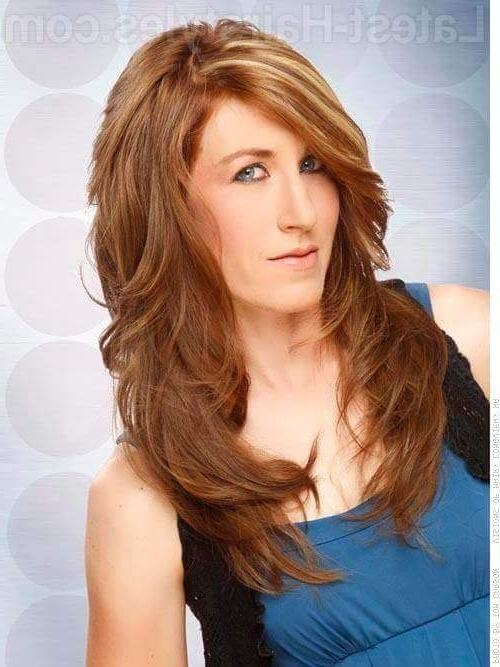 10 Lovely Long Shag Hairstyle Ideas For You To Try Inside Hairstyles Long Shaggy Layers (View 1 of 15)