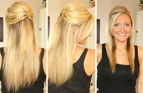 15 Collection Of Long Hairstyles Down Straight