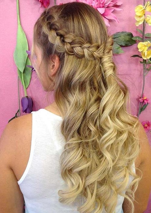 100 Trendy Long Hairstyles For Women To Try In 2017 | Fashionisers Within Long Hairstyles Pinned Back (View 1 of 15)