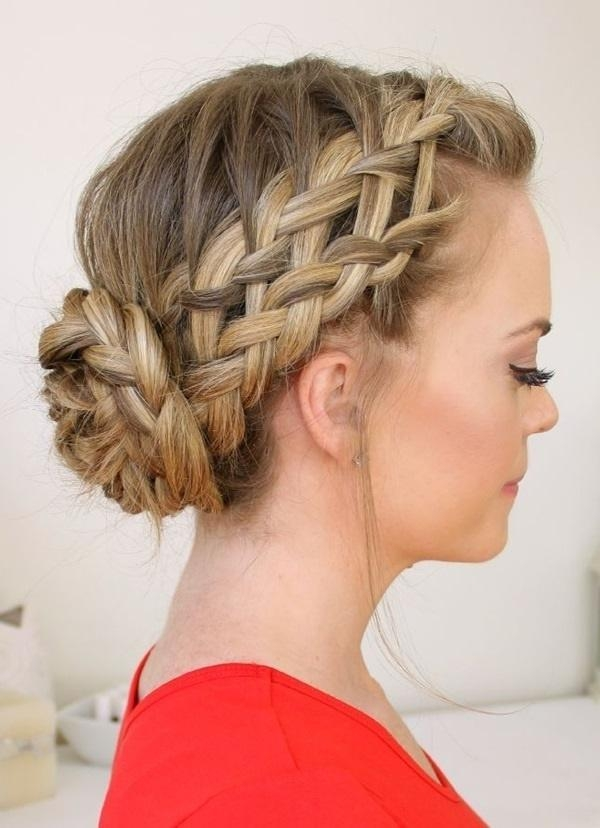 101 Cute & Easy Bun Hairstyles For Long Hair And Medium Hair For Long Hairstyles Buns (View 9 of 15)