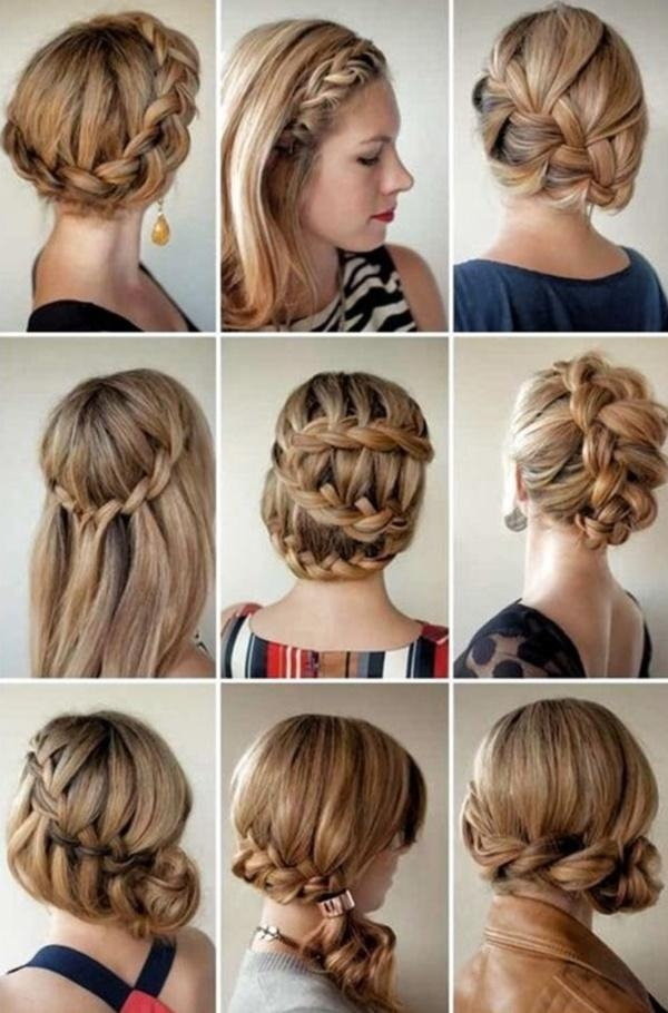 101 Easy Diy Hairstyles For Medium And Long Hair To Snatch Attention Intended For Long Hairstyles Diy (View 1 of 15)