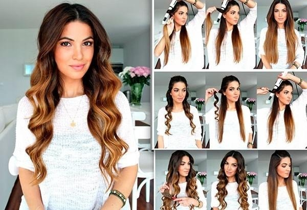 101 Easy Diy Hairstyles For Medium And Long Hair To Snatch Attention Pertaining To Long Hairstyles Diy (Gallery 9 of 15)