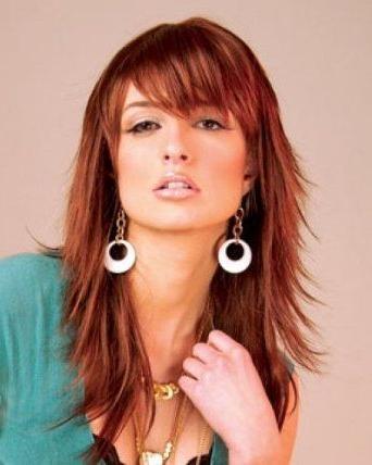 103 Best Medium Razor Cuts Images On Pinterest | Hairstyles Inside Razor Cut Hairstyles Long Hair (View 6 of 15)