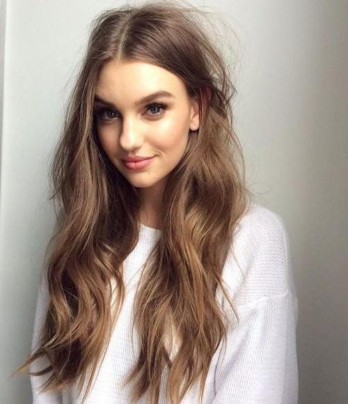 106 Best Medium To Long Length Hairstyles 2016 Images On Pinterest With Regard To Long Length Hairstyles (View 5 of 15)