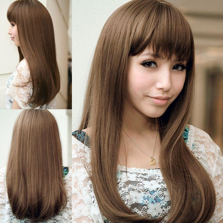 11 Best Chic Japanese Hairstyles Images On Pinterest | Hairstyles With Long Straight Japanese Hairstyles (View 1 of 15)