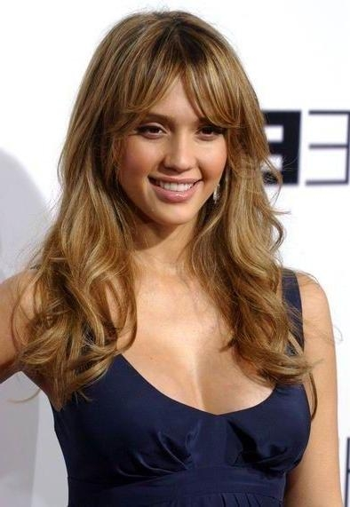 Featured Photo of Long Hairstyles Diamond Shaped Faces
