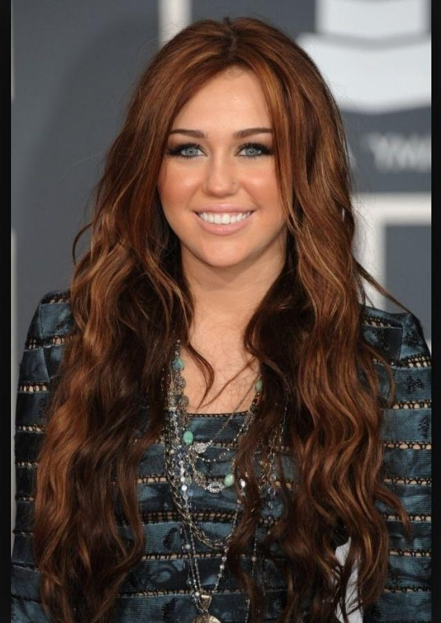 110 Best My Secret Obsession: Miley Cyrus's Long Hair! Images On Throughout Miley Cyrus Long Hairstyles (View 2 of 15)