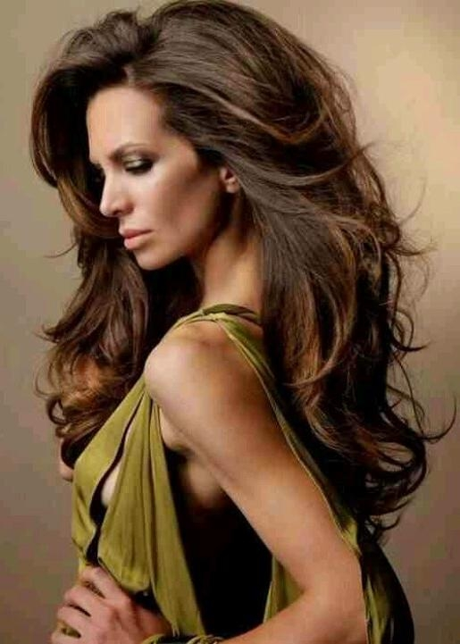 113 Best Hair Images On Pinterest | Hairstyle, Hair And Make Up In Long Hairstyles With Volume At Crown (View 1 of 15)