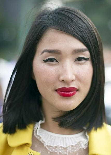 12 Different Ways To Wear Korean Bob Hairstyles – Zestymag Intended For Long Bob Hairstyles Korean (View 4 of 15)