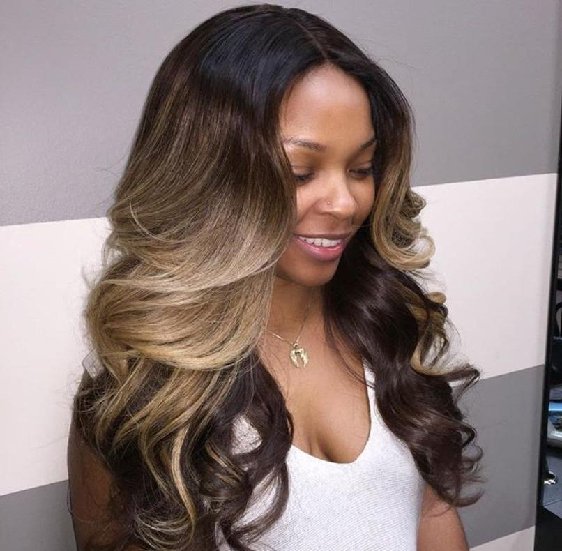 12 Sew In Hairstyles That Will Make You Look Completely Gorgeous Within Long Hairstyles Sew In (View 13 of 15)