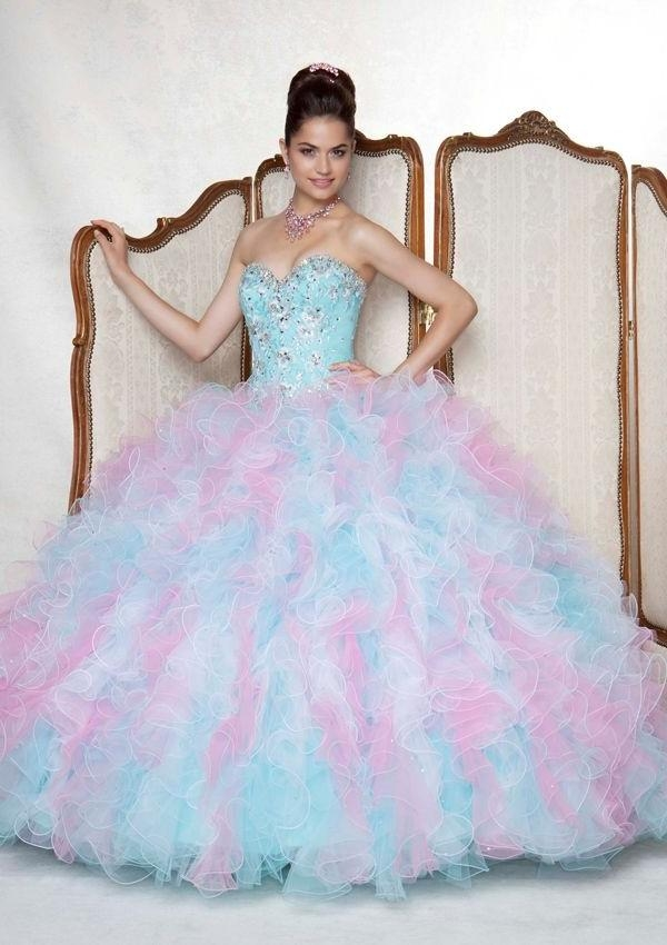 120 Best Dresses Images On Pinterest | Graduation, Clothes And For Long Quinceanera Hairstyles (View 9 of 15)