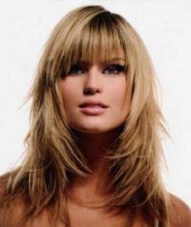 13 Best Hairstyles For Fine Hair Images On Pinterest | Hairstyles Intended For Long Layered Hairstyles For Fine Hair (View 2 of 15)