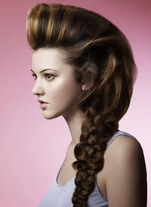 15 Best Unique Hairstyles Images On Pinterest | Unique Hairstyles Pertaining To Long Hairstyles Unique (View 1 of 15)