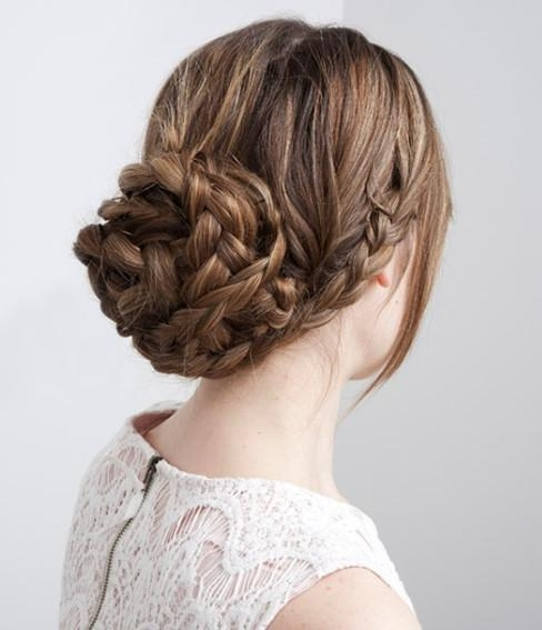 15 Braided Updo Hairstyles Tutorials – Pretty Designs Throughout Long Hairstyles Updos (View 1 of 15)