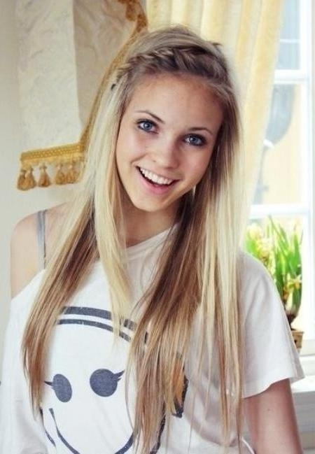 15 Cute Everyday Hairstyles 2017 – Chic Daily Haircuts For Girls Throughout Casual Braids For Long Hair (View 1 of 15)