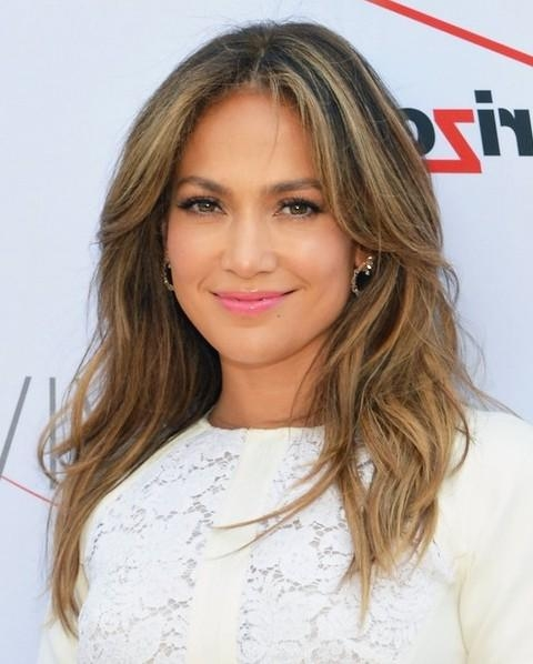 15 Jennifer Lopez Hairstyles – Popular Haircuts Regarding Long Layered Hairstyles Jennifer Lopez (View 12 of 15)