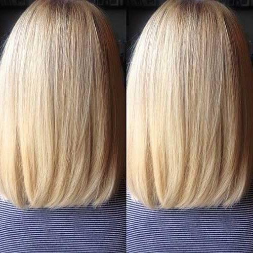 15 Long Bob Haircuts Back View | Bob Hairstyles 2017 – Short Regarding Long Hairstyles Back View (View 12 of 15)