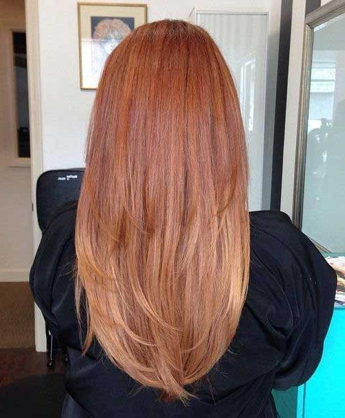 15+ Long Strawberry Blonde Hair | Hairstyles & Haircuts 2016 – 2017 Within Long Hairstyles Back View (View 8 of 15)