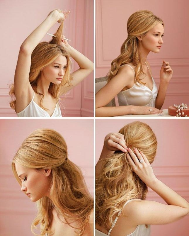 15 Wonderful Hairstyle Tutorials For Long Hair Pertaining To Long Hairstyles Diy (View 4 of 15)