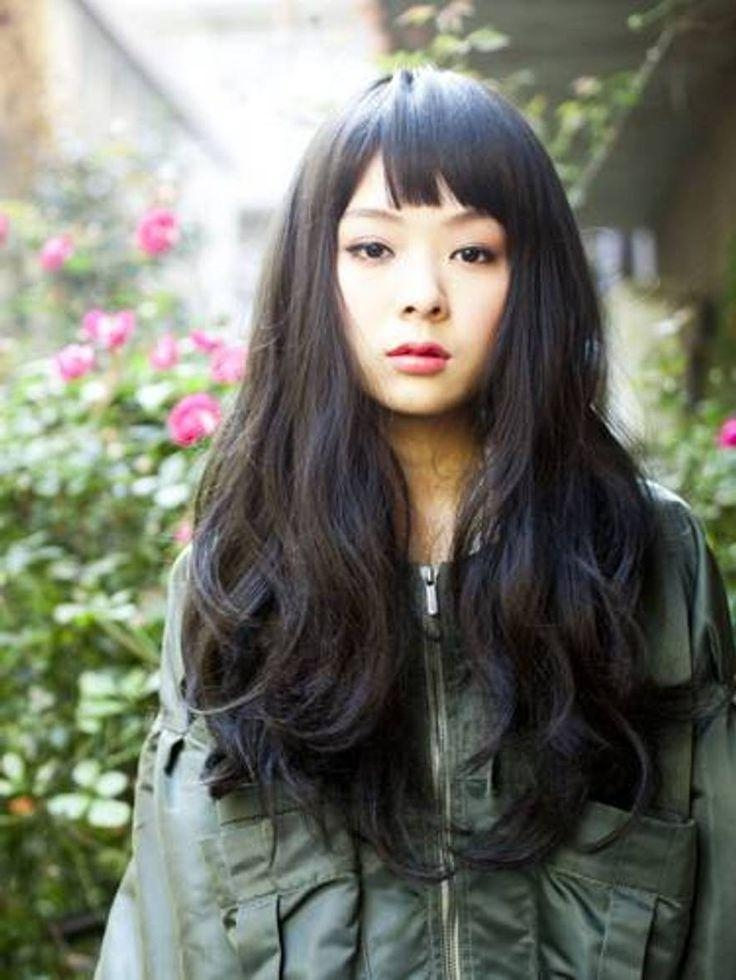 16 Best Japanese Hairstyle Images On Pinterest | Japanese Inside Japanese Long Hairstyles  (View 1 of 15)