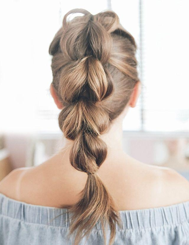 16 Easy Hairstyles For Hot Summer Days | The Everygirl Pertaining To Long Easy Hairstyles Summer (View 1 of 15)