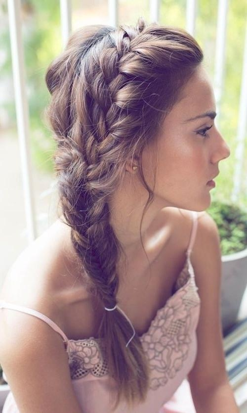 16 Side Braid Hairstyles: Pretty Long Hair Ideas | Styles Weekly Within Long Hairstyles Braids (View 9 of 15)