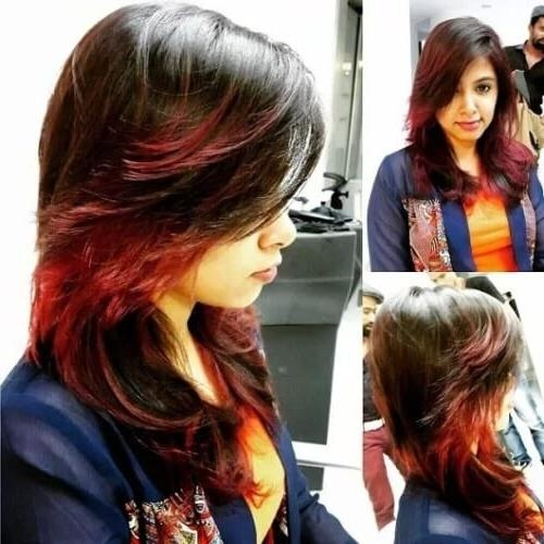 17 Amazing Feather Cut Hairstyles To Suit Indian Women – Updated With Indian Hair Cutting Styles For Long Hair (View 2 of 15)