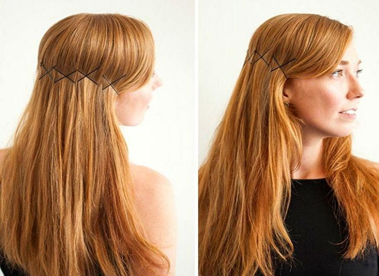 18 Ways To Hack Your Hairstyle With Bobby Pins Inside Long Hairstyles Using Bobby Pins (View 4 of 15)