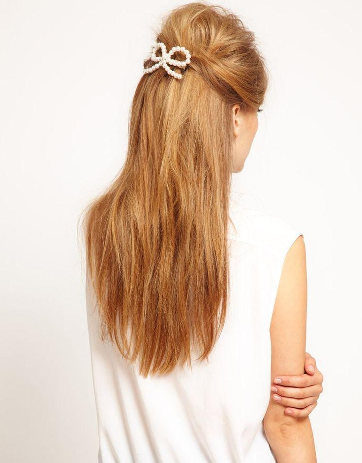 186 Best Hair Styles Half Up, Half Down Images On Pinterest With Regard To Long Hairstyles Half Up Curls (View 3 of 15)