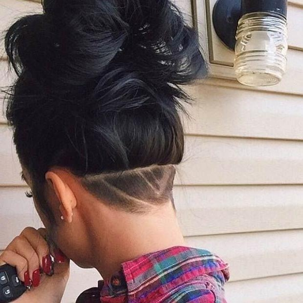 186 Best Undercut Images On Pinterest | Hairstyles, Undercut Regarding Long Hairstyles Shaved Underneath (View 4 of 15)