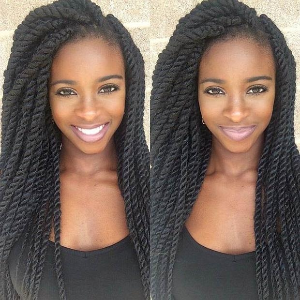 19 Fabulous Kinky Twists Hairstyles | Stayglam With Long Kinky Hairstyles (View 2 of 15)