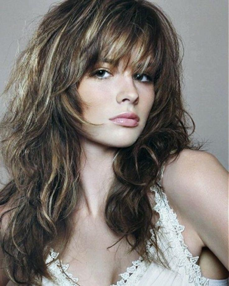196 Best *layered Hair Images On Pinterest | Hairstyles, Braids Within Shaggy Hairstyles Long Hair (View 5 of 15)