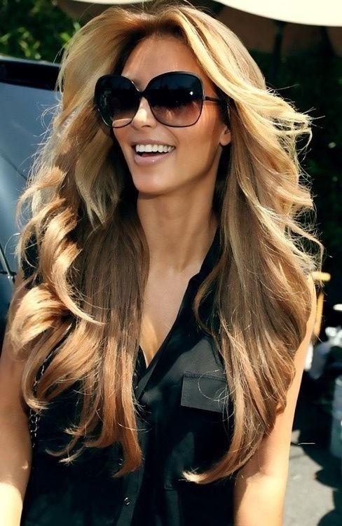 20 Best Layer Hair – Hair Cuts Images On Pinterest | Hairstyles Throughout Long Layered Hairstyles Kim Kardashian (View 1 of 15)