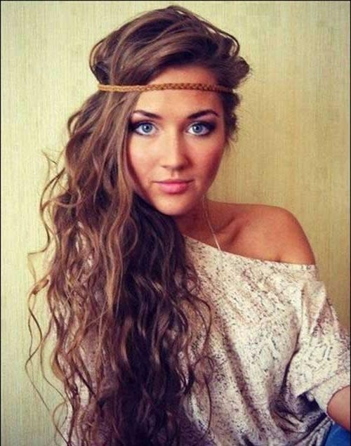 20 Best Long Hairstyles For Curly Hair | Hairstyles & Haircuts Pertaining To Curled Long Hair Styles (View 1 of 15)