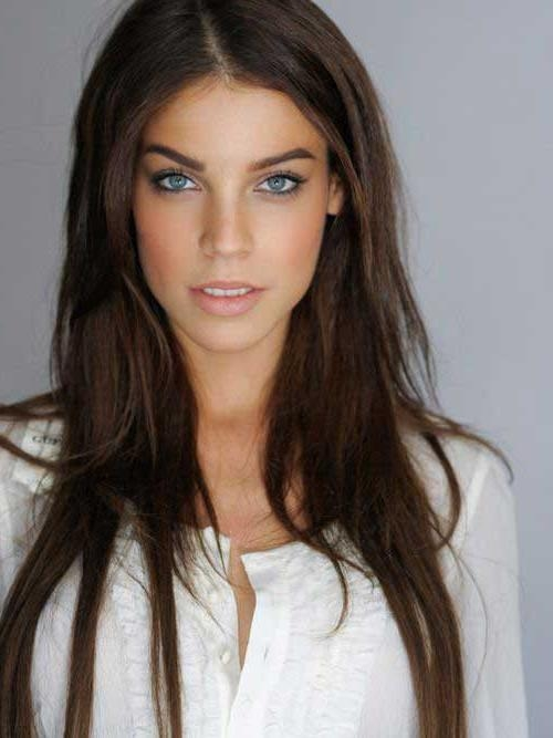 20 Brunette Long Hairstyles | Long Hairstyles 2016 – 2017 With Regard To Long Hairstyles Brunette (View 6 of 15)