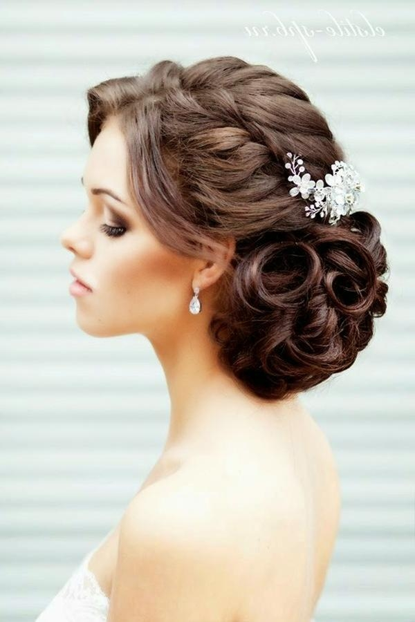 20 Creative And Beautiful Wedding Hairstyles For Long Hair In Long Hairstyles Updos For Wedding (View 1 of 15)