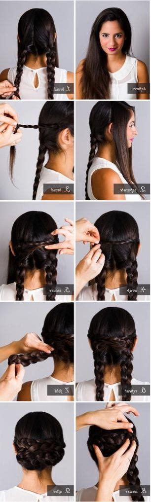 20 Cute And Easy Braided Hairstyle Tutorials For Long Hairstyles For Jeans (View 1 of 15)
