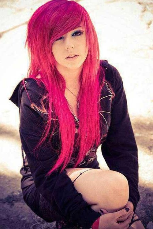 20+ Emo Long Hair | Hairstyles & Haircuts 2016 – 2017 Throughout Long Hairstyles Emo (View 3 of 15)