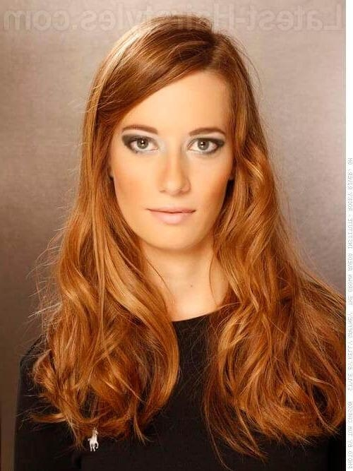 20 Foolproof Long Hairstyles For Round Faces You Gotta See Pertaining To Long Hairstyles One Length (View 6 of 15)