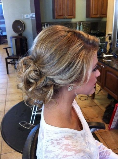 20 Glamorous Wedding Updos 2017 – Romantic Wedding Hairstyle Ideas With Regard To Long Hairstyles Updos  (View 4 of 15)