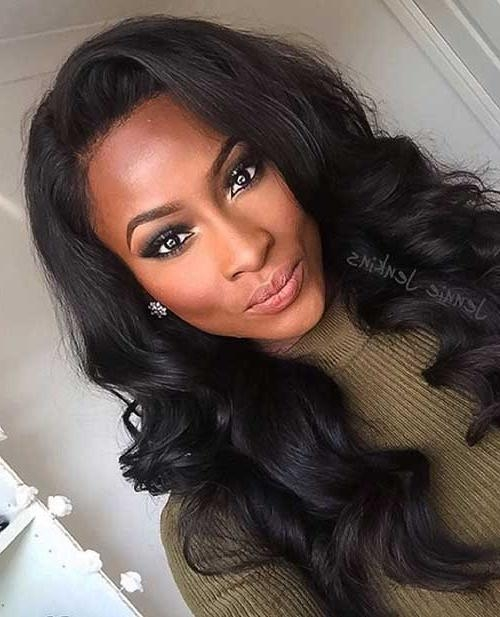 20+ Hairstyles For Black Girls With Long Hair | Hairstyles Intended For Long Hairstyles Black Girl (View 8 of 15)