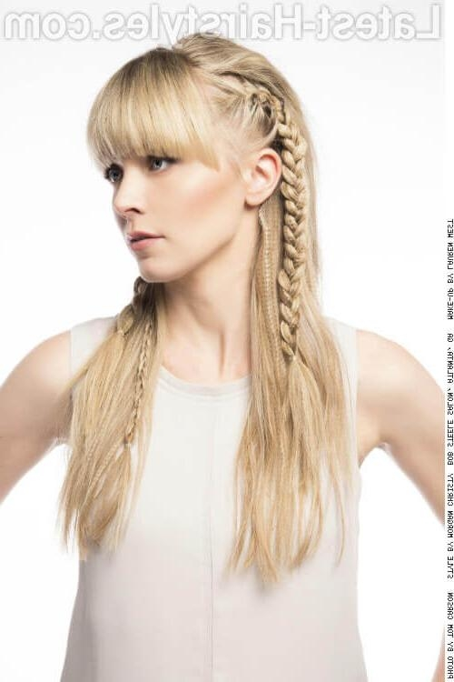 20 Hairstyles That'll Make You Want Long Hair With Bangs In Long Hairstyles Updos With Fringe (View 2 of 15)