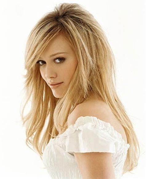 20 Layered Hairstyles For Thin Hair – Popular Haircuts Inside Long Hairstyles For Thin Hair (View 5 of 15)