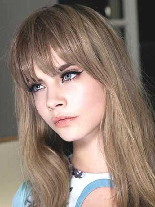 20+ Long Hairstyles With Bangs 2015 – 2016 | Hairstyles & Haircuts Within Long Hairstyles Bangs (View 5 of 15)