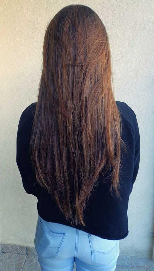20+ Long Layered Straight Hairstyles | Hairstyles & Haircuts 2016 Pertaining To Long Hairstyles Layered Straight (Gallery 5 of 15)